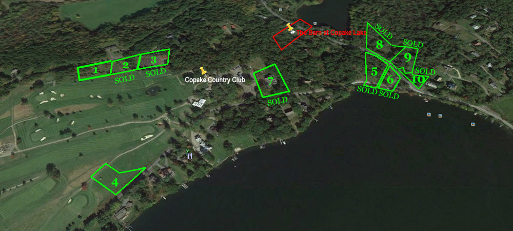 Copake Lake Homes Building Lots